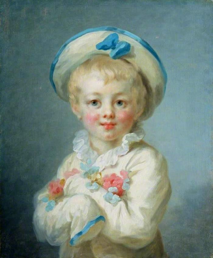 A boy as Pierrot  Jean Honore Fragonard